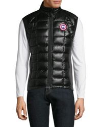 Canada Goose | Black Hybridge Lite Puffer Vest for Men | Lyst