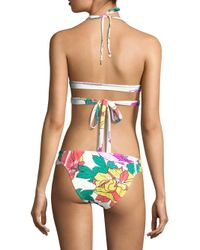 6 Shore Road By Pooja - Multicolor La Playa Floral Wrap Bikini Top - Lyst
