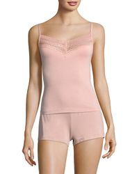 Saks Fifth Avenue - Pink Collection Lori Lace Camisole - Lyst