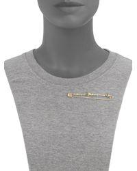 Alexis Bittar - Metallic Elements Safety Pin Brooch - Lyst