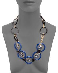 Marni - Black Circles Necklace - Lyst
