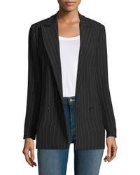 Ganni - Black Brighton Tailored Blazer - Lyst