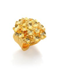 Stephanie Kantis - Metallic Bouquet Statement Ring - Lyst