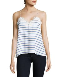 Cami NYC - Blue The Racer Striped Camisole - Lyst