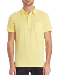 Polo Ralph Lauren - Yellow Classic Polo Shirt for Men - Lyst