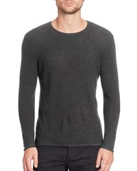 Rag & Bone - Gray Giles Crewneck Sweater for Men - Lyst