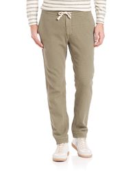 Eidos - Green Washed Army Drawstring Pants for Men - Lyst