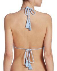 Anna Kosturova - Multicolor Bella Triangle Bikini Top - Lyst