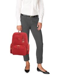 Tumi - Red Calais Backpack - Lyst
