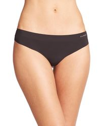 La Perla - Black Invisible Thong - Lyst