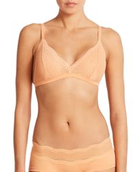 Cosabella - Orange Dolce Soft Bra - Lyst