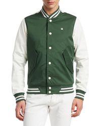 G-Star RAW - Green Rackam Sports Bomber Jacket for Men - Lyst