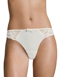 Aubade - White L'insoumise String Thong - Lyst