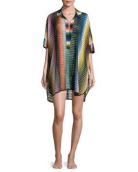 Missoni | Multicolor Rete Sfumata Swim Shirt | Lyst