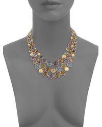 Marco Bicego - Metallic Jaipur Semi-precious Multi-stone Necklace - Lyst