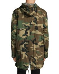 Ovadia And Sons - Green Fishtail Camo Parka for Men - Lyst