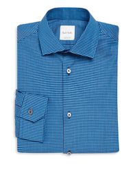 Paul Smith - Blue Soho-fit Check Dress Shirt for Men - Lyst