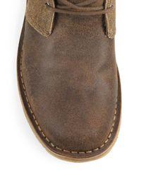 Ugg Brown Leighton Bomber Suede Chukka Boots for men