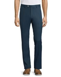 Peter Millar - Blue Classic Regular-fit Toner Pants for Men - Lyst