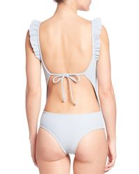 Made By Dawn - Blue One-piece Petal 2 Swimsuit - Lyst