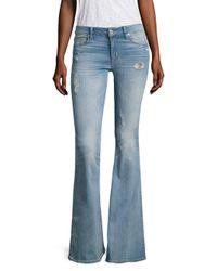 Hudson - Blue Mia Aura Bell-bottom Jeans - Lyst