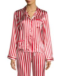 Morgan Lane - Red Striped Ruthie Top - Lyst