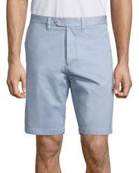 Saks Fifth Avenue | Blue Pima Modal Shorts for Men | Lyst