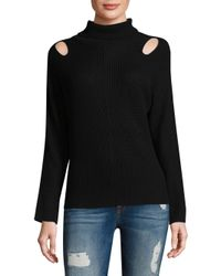 Ella Moss | Black Riley Sweater | Lyst