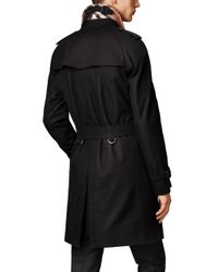 Burberry - Black Wiltshire Heritage Trench Coat for Men - Lyst