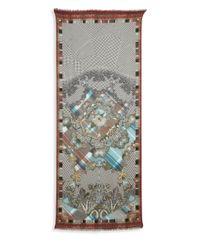 Etro - Multicolor Cashmere & Silk Stole - Lyst