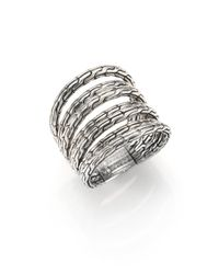 John Hardy | Metallic Classic Chain Sterling Silver Multi-band Ring | Lyst