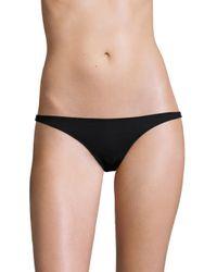 Melissa Odabash   Black Lima Bikini Bottom   Lyst