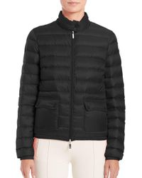 Moncler | Blue 'lans' Padded Jacket | Lyst