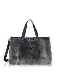Luana Italy - Black Carlyle Reversible Tote - Lyst