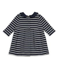 Petit Bateau - Blue Baby's Leonore Striped Dress - Lyst