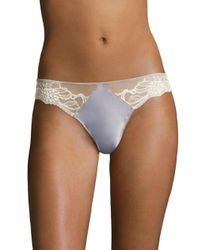 Calvin Klein - Multicolor Enamored Lace Thong - Lyst