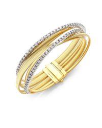 Marco Bicego - Multicolor Masai Diamond Tennis Bracelet - Yellow Gold - Lyst