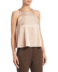 A.L.C. - Multicolor Open Back Sleeveless Top - Lyst