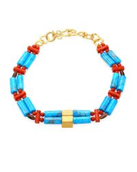 Stephanie Kantis - Blue Bonsai Semi-precious Multi-stone Necklace - Lyst
