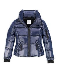 Sam. - Blue Girl's Freestyle Puffer Jacket - Lyst