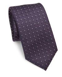 Pal Zileri - Blue Textured Silk Tie for Men - Lyst