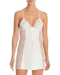 In Bloom - White Women's Affinity Bridal Chemise - Ivory - Size Medium - Lyst
