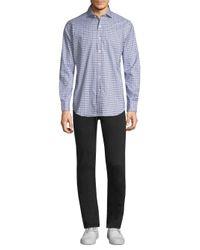 Polo Ralph Lauren - Blue Cotton Poplin Button-down Shirt for Men - Lyst