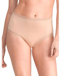 Natori - Pink Bliss Full Briefs - Lyst