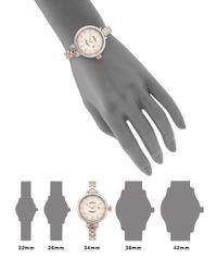 Shinola - Metallic Birdy Rose Goldtone Pvd & Stainless Steel Bracelet Watch - Lyst