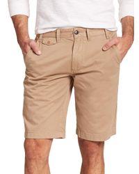 Barbour - Brown Neuston Cotton Shorts for Men - Lyst