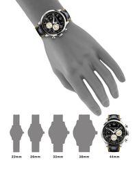 Baume & Mercier - Black Capeland Shelby® Cobra 10282 Limited Edition Stainless Steel & Alligator Strap Watch - Lyst