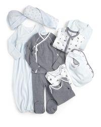 Ralph Lauren - Multicolor Infant's 11-piece Coverall, Gown, Kimono, Footed Pants, Bodysuits, Bib, Hat & Blanket Set - Lyst