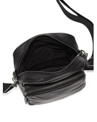 Maison Margiela - Black Leather Bag for Men - Lyst