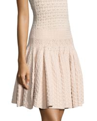 A.L.C. - Natural Lana Pointelle-knit Skirt - Lyst
